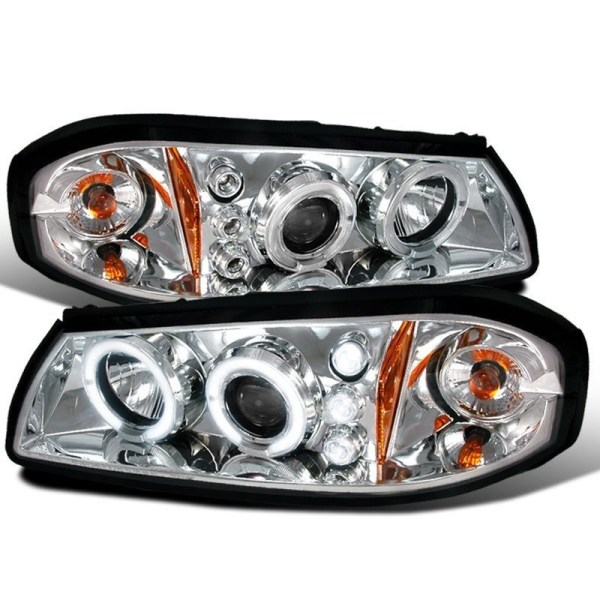 Winnebago Adventurer Chrome Projector Headlights Unit Pair (Left & Right)
