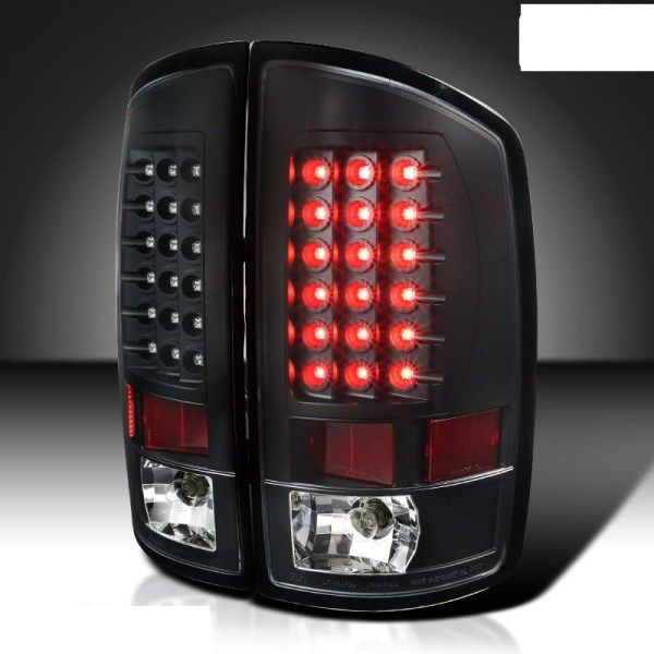 Holiday Rambler Endeavor LED Black Tail Light Assembly Pair (Left & Right)