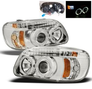 Airstream Skydeck Chrome Projector Headlights & Signal Lamps  (Left & Right)