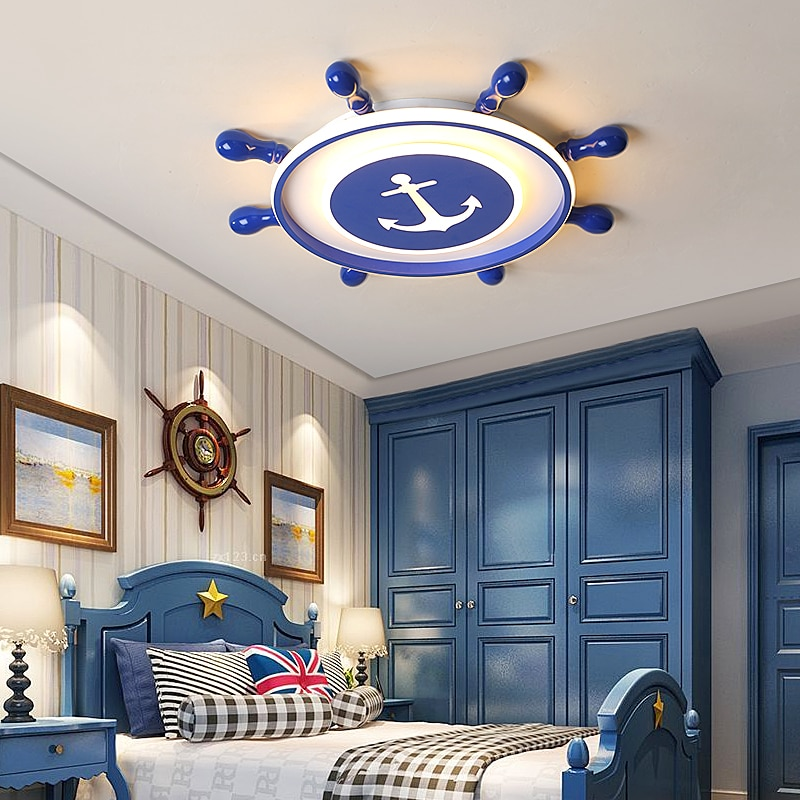 pirate led ceiling lights for children s room blue ceiling lights for boys room