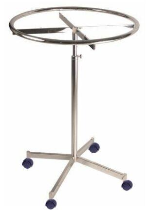 spinning round garment rack revolving