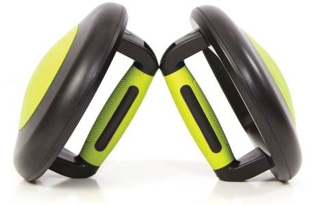 Rounded Bottom Push Up Bars Make For The Perfect Push Up Station