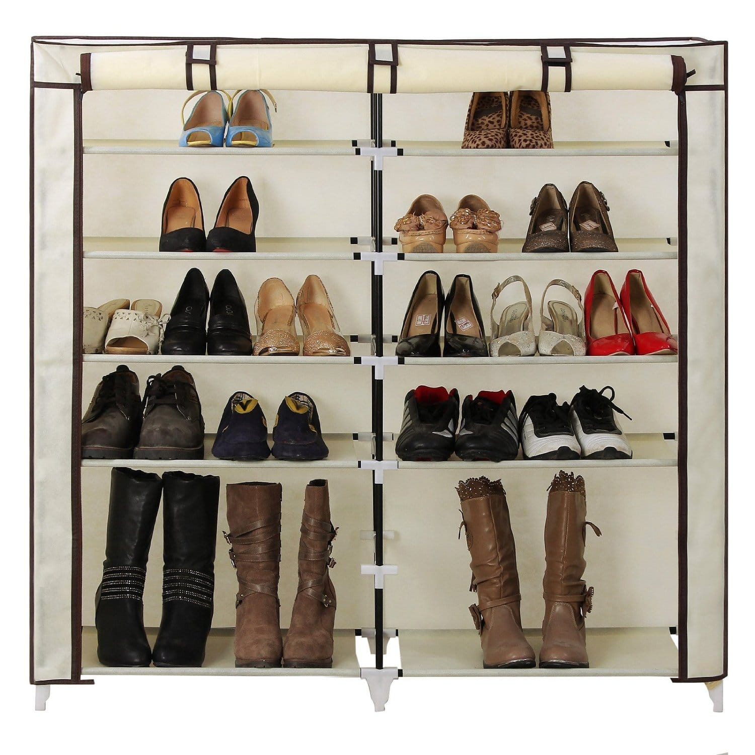 Songmics 7 Tier Shoe Storage Cabinet Organizer