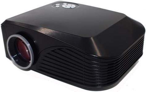 Mini LED Projector 1000 lumens 800*480 Multimedia Beamer Portable Home Theatre Projectors support