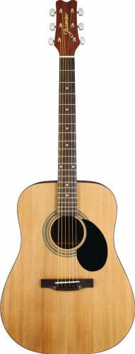 Roll over image to zoom in Jasmine S35 Acoustic Guitar, Natural