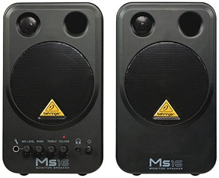 Behringer MS16 Powered Studio Desktop Monitors