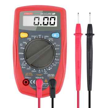 Etekcity MSR-R500 Digital Multimeter, Amp / Ohm / Volt Meter, Multi Tester w/ Diode and Continuity Test