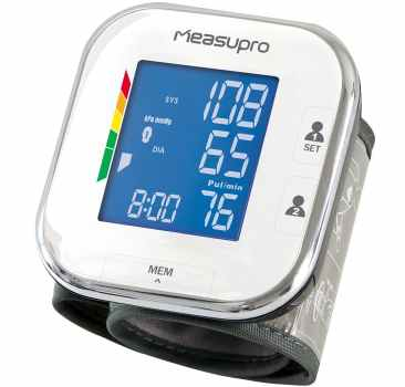 MeasuPro Portable Wrist Blood Pressure Monitor