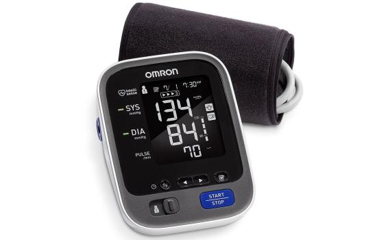 Omron 10 Series Wireless Upper Arm Blood Pressure Monitor with Cuff that fits Standard and Large Arms