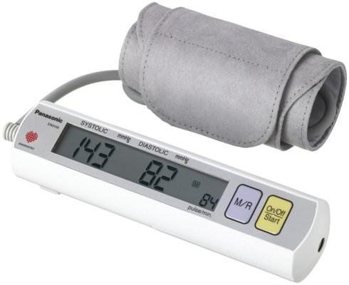 Panasonic EW3109W Portable Upper Arm Blood Pressure Monitor