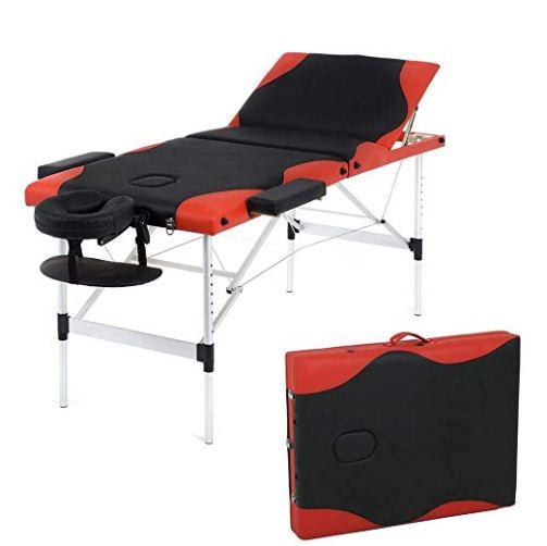 Adjustable Aluminium Massage Table