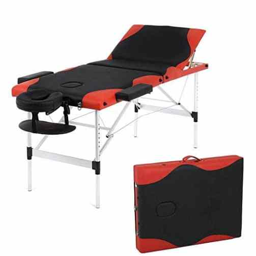 Adjustable Aluminium Massage Table