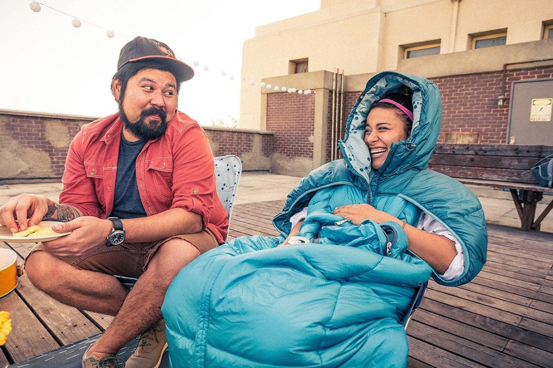 Wearable Sleeping Bags with Arm Holes