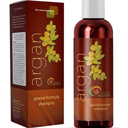 Argan Oil Shampoo by Maple Holistics