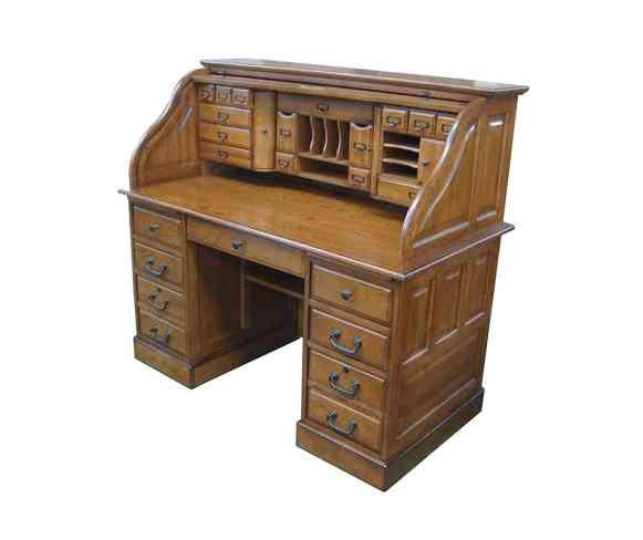 Chelsea Home Furniture Deluxe Roll Top Desk