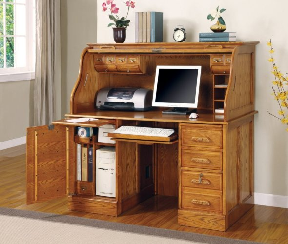 Roll Top Desk by Coaster Furniture