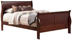 Alpine Furniture 2700Q Sleigh Bed