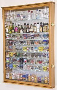 Flag connections Shot Glass Display Case