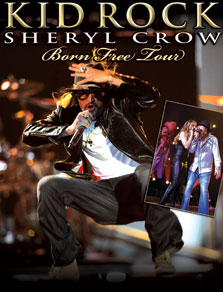 Kid Rock and Sheryl Crow Tickets
