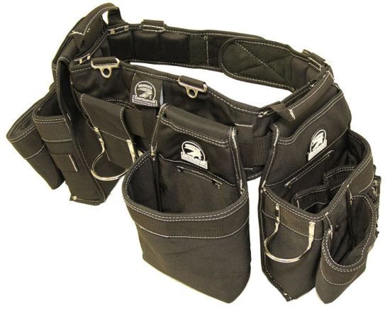 Gatorback B145 Carpenters tool belt, tool pouches. Most comfortable tool belt image