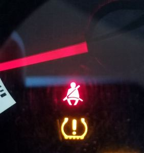 TPM light on Toyota Tacoma Truck