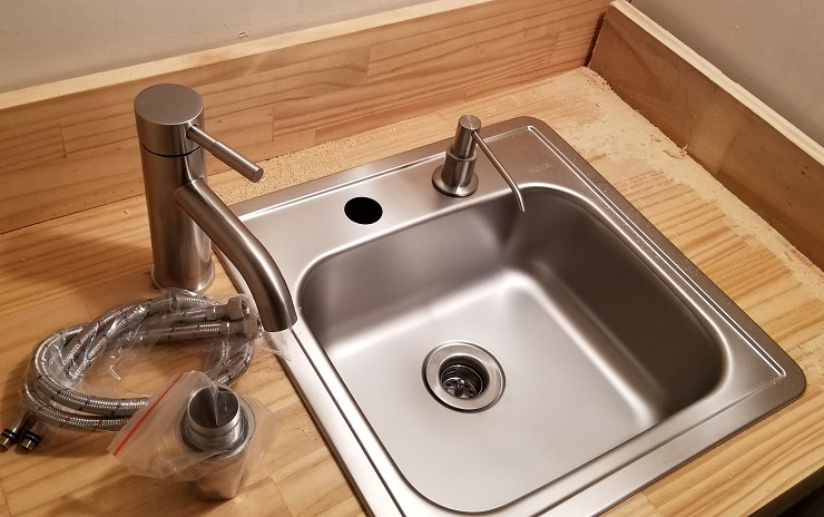 Sink and Toilet without plumbing, INSTALLATION - BuyToolBags