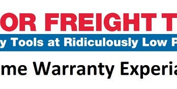 Harbor Freight Pittsburgh Tools Warranty Experience
