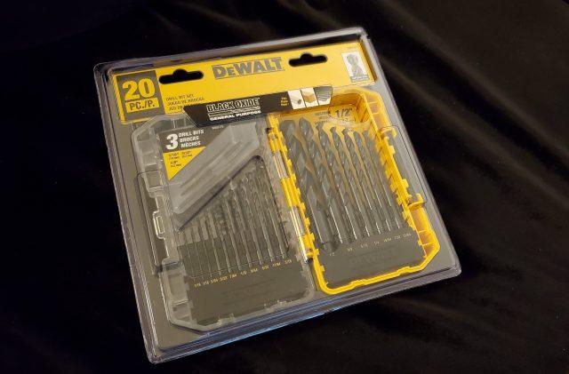 Dewalt Black Oxide Drill bits for metal