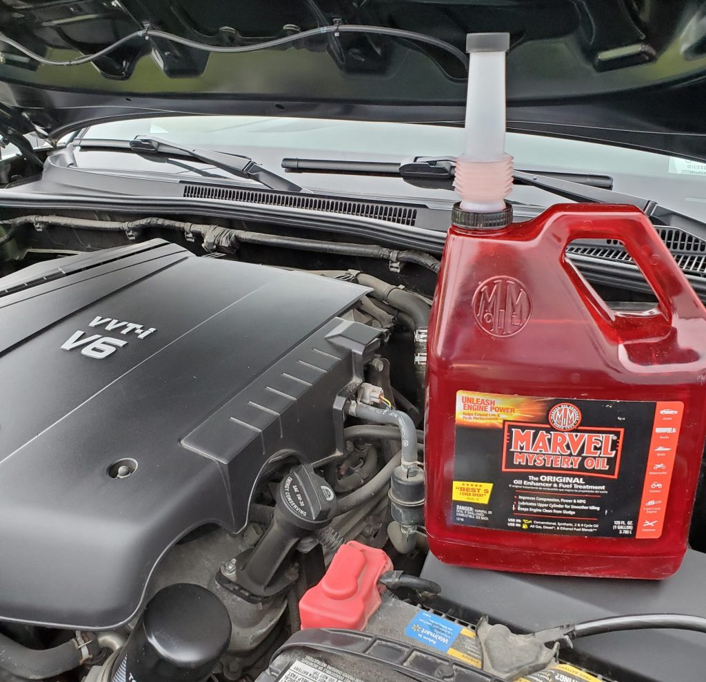 Can you Put Marvel Mystery Oil in your Engine image