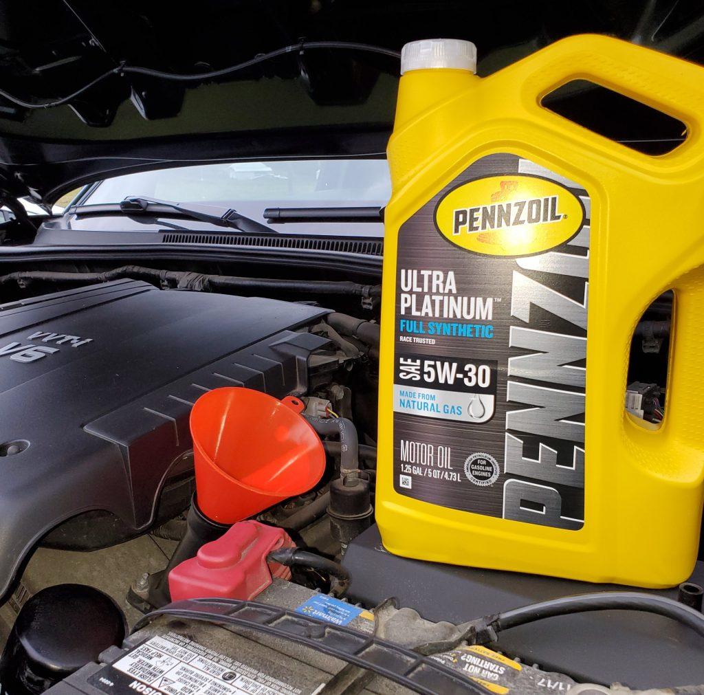 Pennzoil Ultra Platinum Full Synthetic Motor Oil Tacoma