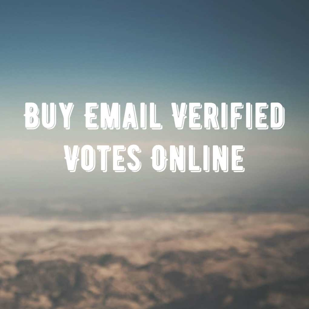 buy email verified votes