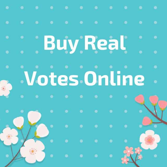 buy real poll votes online