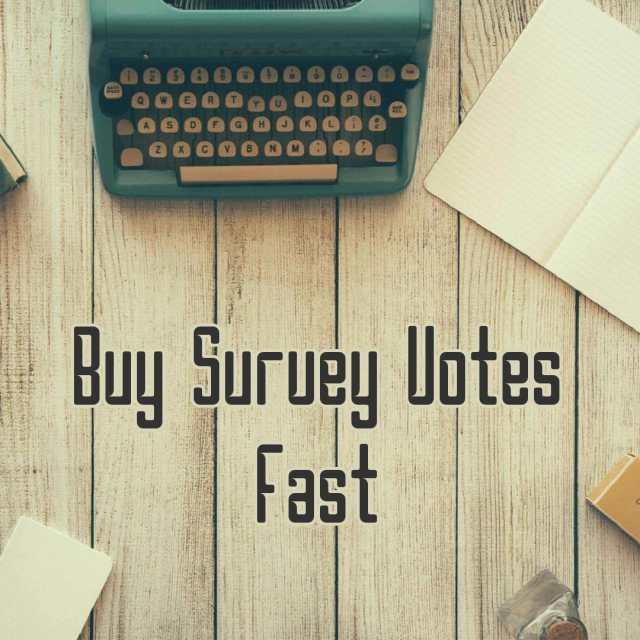 buy survey votes fast