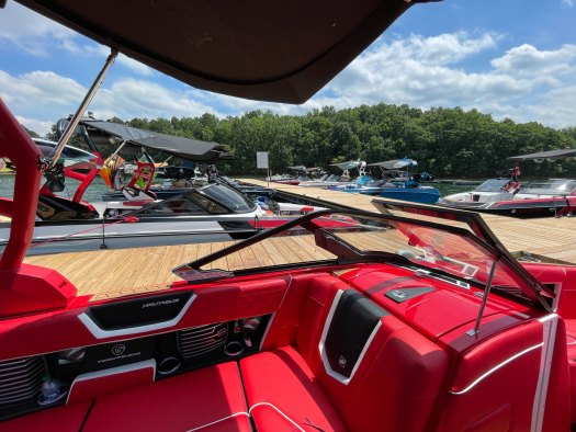 A glorious view from the BuyWake Nautique G21