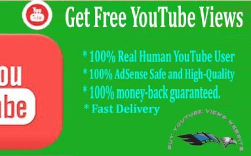 Get Free YouTube Views