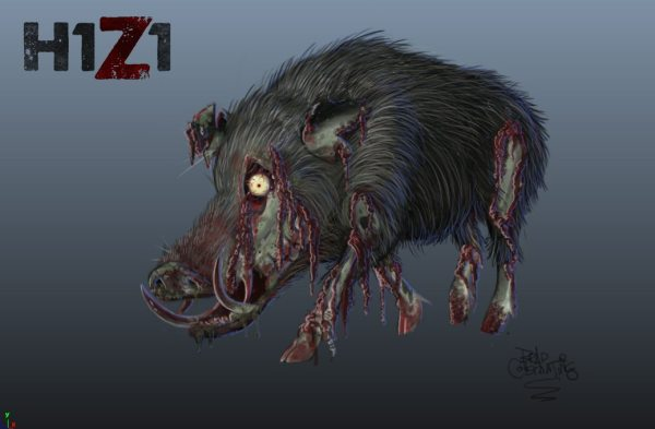 zombie-boar
