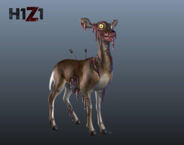 zombie-deer