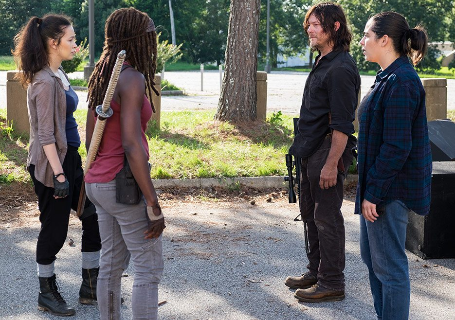 The Walking Dead Episode 6's Most Talked About Scene