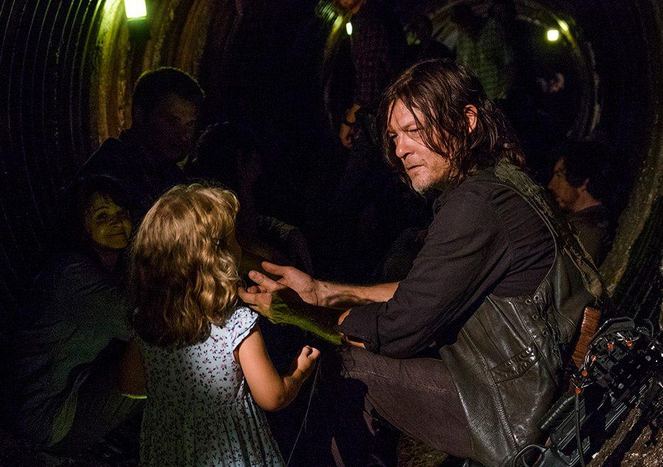 The Walking Dead Mid-Season 8 Finale's Most Talked About Scene