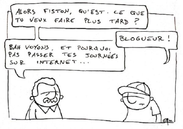 blogueur débutant
