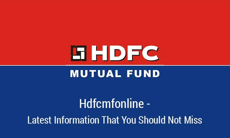 HDFCMFOnline