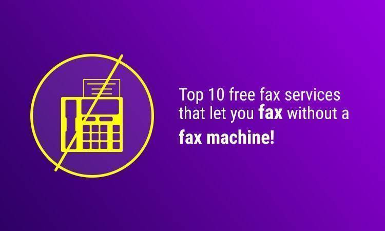 11 Best Free Online Fax Services
