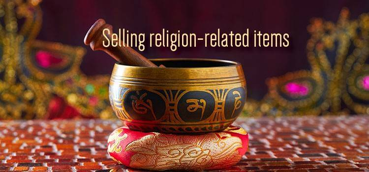 Selling Religion-Related Items