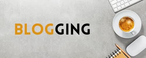 startup blogging business