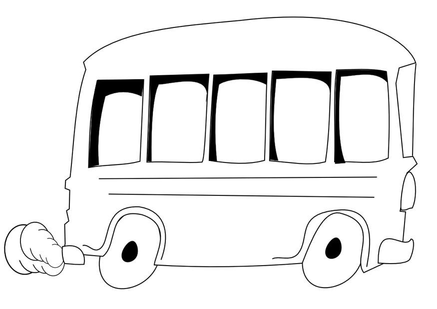 120 Dessins De Coloriage Autobus Imprimer