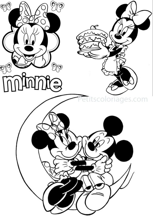 a colorier mickey