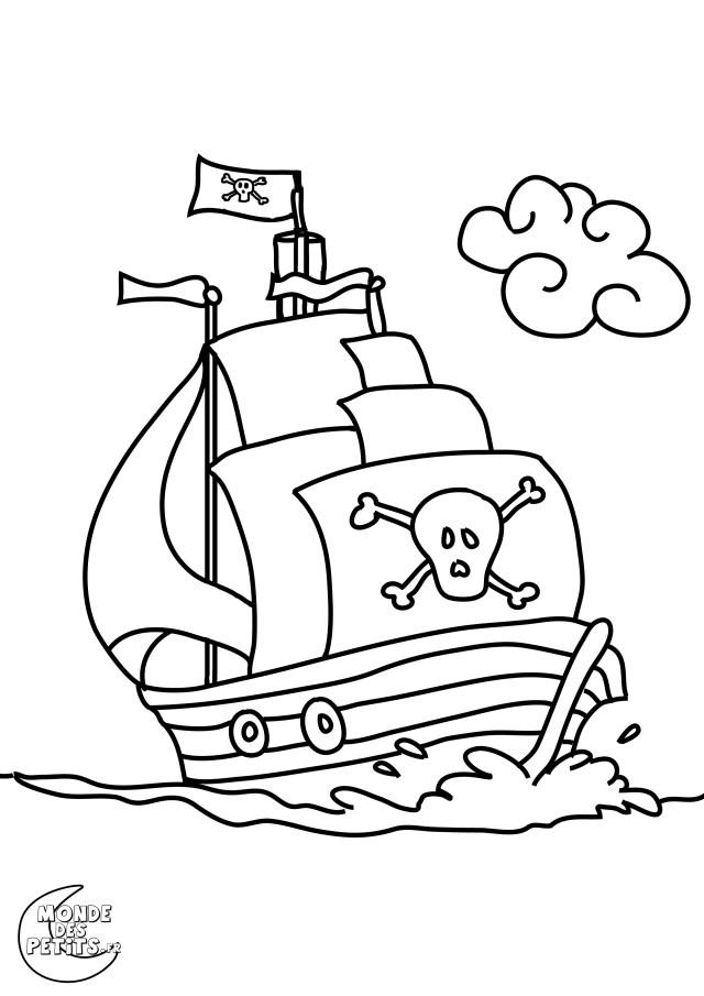 coloriage pirate imprimer