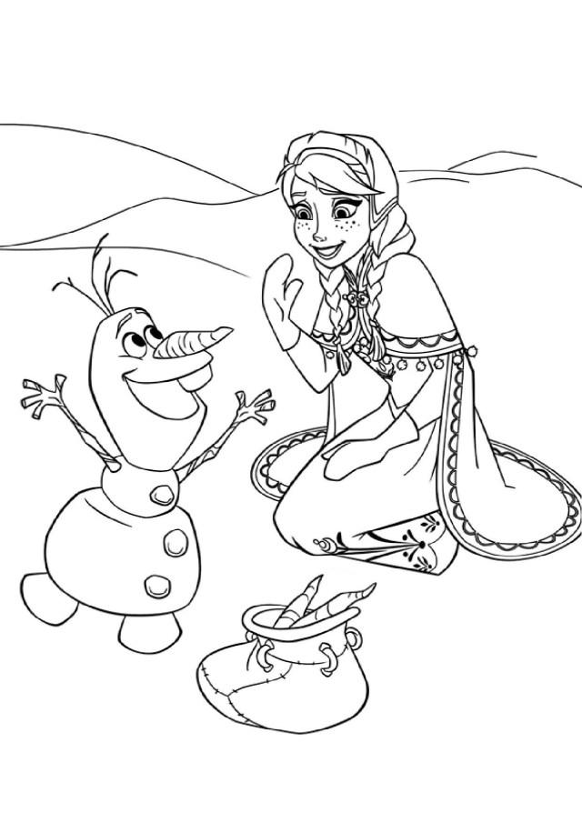 tout les coloriage à dessiner de la reine des neiges