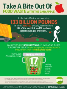 Take a bite out of food waste infographic