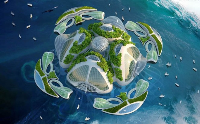 Aequorea, the floating city